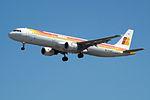 EC-HUI A321 Iberia (14622914857).jpg