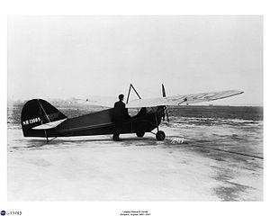 Aeronca C-2 - Aeronca C-2N Scout De luxe at Langley