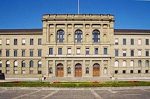 The Zentrum campus of the ETH in Zurich, south...