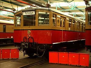1928 in rail transport - DRG Class ET 165 for Berlin S-Bahn