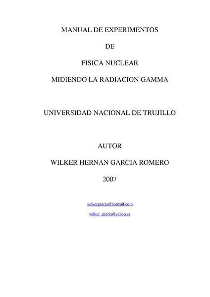 File:EXPERIMENTOS CON RADIACION GAMMA WILKER HERNAN GARCIA ROMERO.pdf