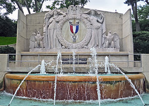 Eagle Scout (Boy Scouts of America) - The Eagle Scout Memorial Fountain in Kansas City, Missouri