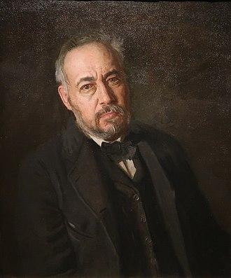 Thomas Eakins - Self portrait National Academy of Design, New York