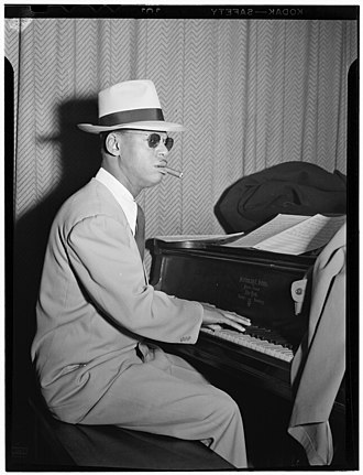 Earl Hines - Hines in 1947 (photograph by William P. Gottlieb)