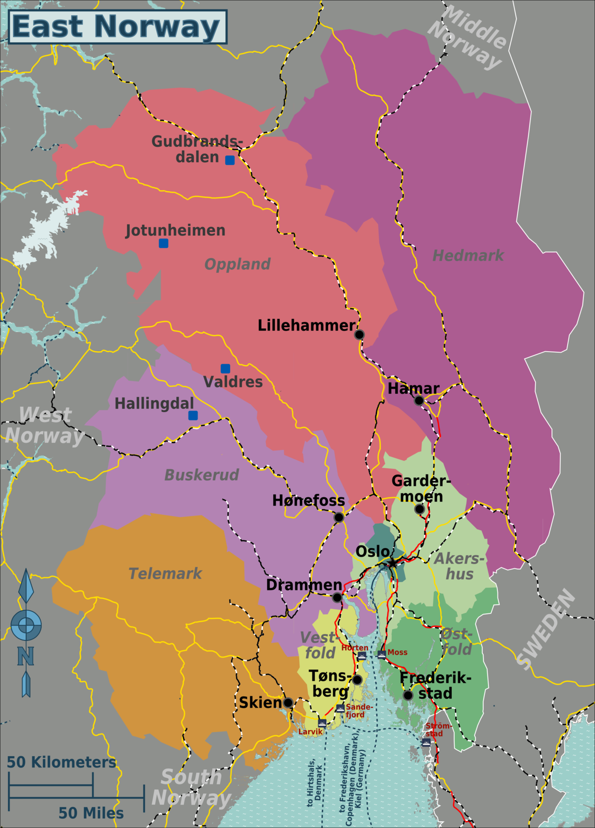 East Norway Travel Guide At Wikivoyage
