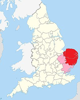 East Anglian English dialect of English spoken in East Anglia