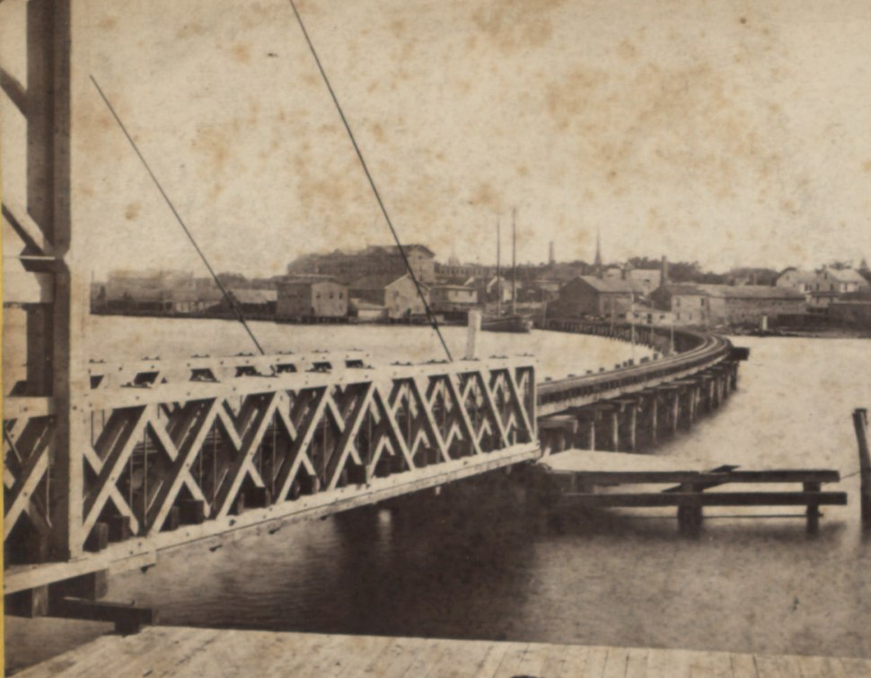 East Bridgeport Bridge over Pequannock River, by Whitney, Beckwith & Paradice