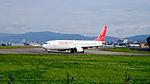 Easter Jet Boeing 737-883 HL8292 Departing from Taipei Songshan Airport 20160126b.jpg