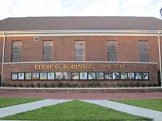 Grambling, Louisiana - Eddie G. Robinson Museum in Grambling