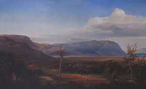 Eduard Mezger - Greek landscape