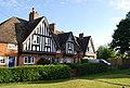 Edwardian almshouses, village green, Weald - geograph.org.uk - 1380207.jpg