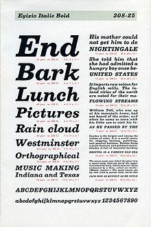 Clarendon (typeface) - Wikipedia