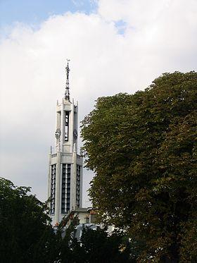 L'église Sainte-Agnès, classée monuments historiques