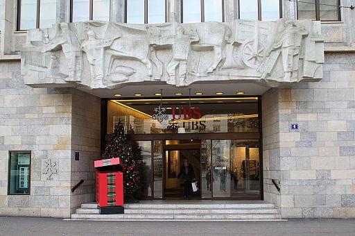 Eingang UBS Paradeplatz