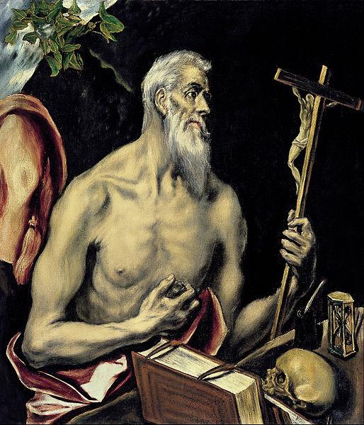 File:El Greco - San Jerónimo - Google Art Project.jpg