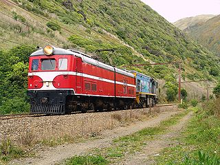 New Zealand EW class locomotive class of 7 New Zealand electric locomotives
