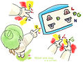 Electric shock ,children finger and receptacle ,anime summary ,ไฟดูด นิ้วเด็ก ปลั๊ก เต้ารับ อะนิเมะ 01.jpg