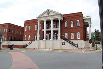 Gilmer County, Georgia - Image: Ellijay courthouse
