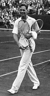 Ellsworth Vines American tennis player and golfer