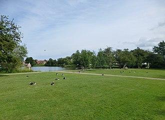 Emdrup - Emdrup Lake Park at Lake Emdrup