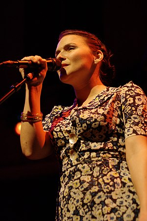 Emilíana Torrini - Torrini performing in 2009