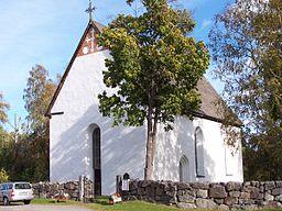 Enångers gamla kyrka.