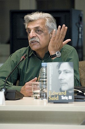 Tariq Ali - Tariq Ali presenting the Spanish version of Conversations with Edward Said in Córdoba, Spain, in 2010.