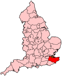 Location of Kent