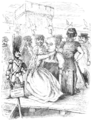 English Caricaturists, 1893 - Angelica Arrives Just in Time.png