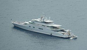 Enigma (yacht) - Enigma near Capri, 2016