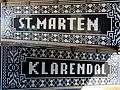 Enjoyable tile decorations under the railwaybridge as a entrancegate to Klarendal district - panoramio.jpg