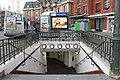 Entrée Métro Mairie St Ouen St Ouen Seine St Denis 5.jpg