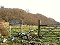 Entrance to Ballachuan Hazel Wood - geograph.org.uk - 385775.jpg