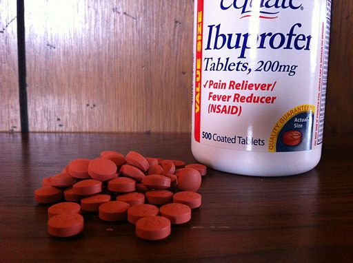 Equate Ibuprofen Pills and Bottle