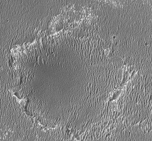 Erebus (crater) - Erebus, as seen by HiRISE.