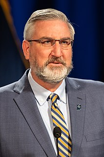 Eric Holcomb 51st Governor of Indiana