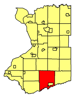 Location of Concord in Erie County