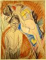 Ernst Ludwig Kirchner Mann und nackte Frau 1915.jpg