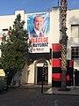Ersin Tatar 2020 campaign banner in Kyrenia.jpg