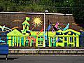 Erskineville station mural 2010.jpg