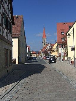 Eschenau Herrengasse Kirche