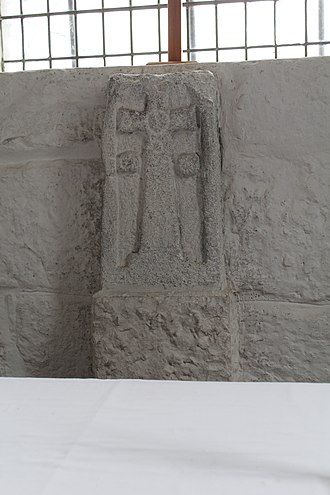 Escomb Church - Anglo-Saxon altar cross
