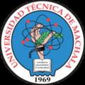 Escudo de la Universidad Técnica de Machala.png