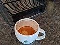 Espresso shot in a cappuccino cup.jpg