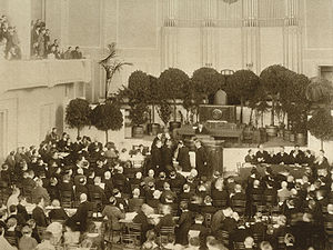 Estonian Constituent Assembly election, 1919 - Estonian Constituent Assembly, Opening Session on 23 April 1919.