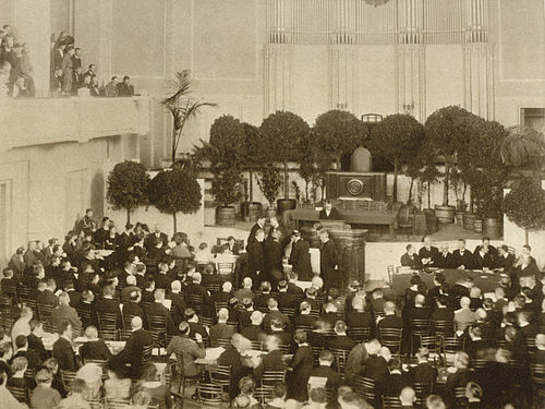 Estonian Constituent Assembly, Opening Session on 23 April 1919.
