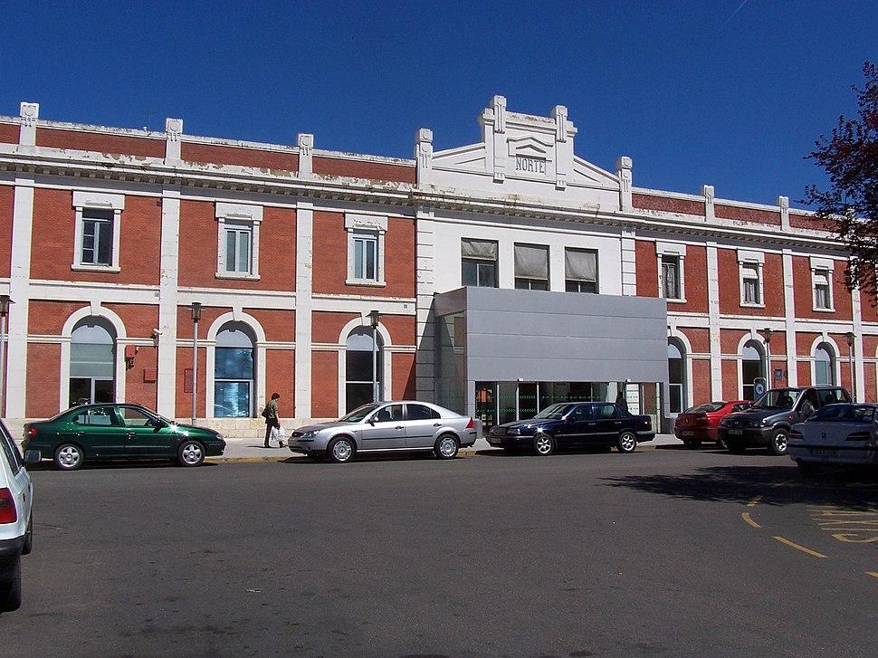 Estacion de trenes Palencia