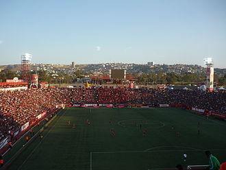 Estadio Caliente - Internal view of the stadium