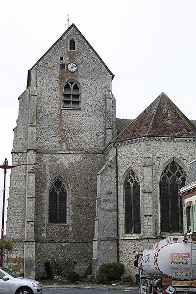 Église Saint-Remi d'Esternay.
