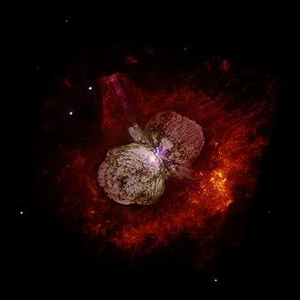 Homunculus Nebula - Image: Eta Carinae